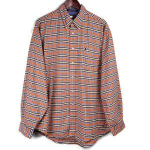 Tommy Hilfiger | Shirt Orange Plaid Button Down